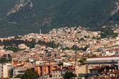 Moschea e molte case a bursa, turchia — Foto Stock