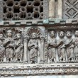 Stock Photo: Venice - door from bronze to cathedral of St Mark