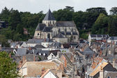 Beautiful medieval village Amboise, Loire Valley, France — Stock Photo
