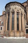 The San Giovanni e Paolo church in Venice in Italy — Stock Photo