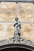 Venice -the Scuola Grande di San Marco, nearby the basilica of santi Giovanni e Paolo — Stock Photo