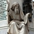 Stock Photo: Prophet Ezechiel statue in Rome, Italy.