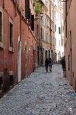 Rome - charming olds the street — Stock Photo