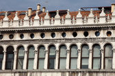 Venice - Procuratie Vecchie on the north side of the St Mark's Square — Stock Photo