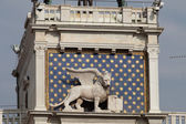 Venice, Torre dell'Orologio - St Mark's clocktower. — Stock Photo