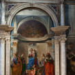 Stock Photo: Venice - church of SZaccariinterior