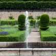 Gardens and Chateau de Villandry in Loire Valley in France — Stock fotografie #30244455