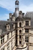 Escalera de caracol en el castillo de chambord, valle del loira, francia — Foto de Stock