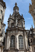 Pinnacle on the roof of the chateau of Chambord, — Stock Photo