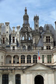The royal Castle of Chambord in Cher Valley, France — 图库照片