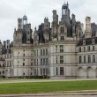 Northwest facade of the Chateau de Chambord — Stock Photo