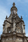 Pinnacle on the roof of the chateau of Chambord, the most famous castle in the Chateau of the Loire Valley, — Stock Photo