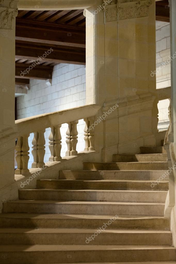 ch 226 teau de chambord escalier h 233 lice par l 233 onard de vinci photographie wjarek
