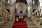 Interior of the Basilica of Saint-Martin, Tours, France — Stock Photo