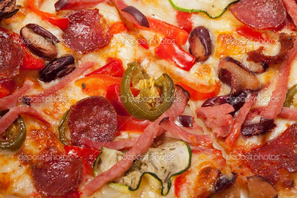 Delicious Italian Pizza Delicious Italian Pizza