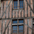 Stock Photo: Half-timbered house in Tours, Loire Valley, France