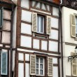 Half timbered houses of Colmar, Alsace, France — Zdjęcie stockowe #34206295