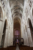 Gothic cathedral of Saint Gatien in Tours, Loire Valley, France — Stock Photo