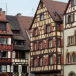 Half timbered houses of Colmar, Alsace, France — Foto de Stock