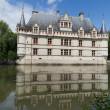 Azay-le-Rideau castle in the Loire Valley, France — Stock Photo