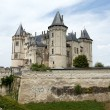 Castle of Saumur in Loire Valley, France — Stockfoto