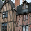 Half-timbered house in Tours, Loire Valley, France — Stock Photo