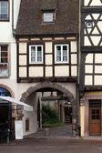 コルマール、アルザス、フランスの木骨造りの家 — ストック写真