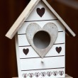 Handmade the wooden house for birds — Stock Photo #36274143