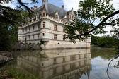Azay-le-rideau zamku w dolinie loary, francja — Zdjęcie stockowe