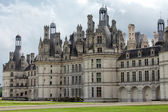 The royal Castle of Chambord in Cher Valley, France — Stock Photo