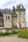 Castle of Saumur in Loire Valley, France — Stock Photo