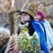Biblical Magi Three Wise Men parade — Stock Photo #38309057