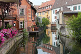 Half timbered houses of Colmar, Alsace, France — Stock Photo