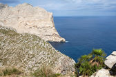 Cape Formentor on Majorca, Balearic island, Spain — Stock Photo