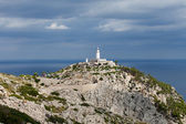 Lighthouse on Cap de Formentor. Majorca island, Spain — Stock Photo