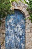 Old charming street in spanish village Valldemossa, Mallorca — Stock Photo
