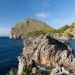 Torrent de Pareis - Sa Calobra bay in Majorca Spain — Stock Photo