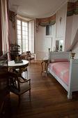 In style kept rooms in the castle Valencay. Loire Valley. France — Foto de Stock