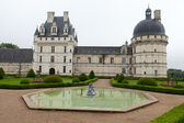 Garden and Castle of Valencay in Loire Valley in France — Stockfoto