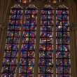 Stock Photo: Stained glass windows of Saint Gatien cathedral in Tours, France.