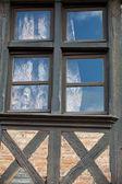 Casa a graticcio in tours, valle della loira, francia — Foto Stock
