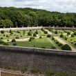 Gardens at Chateau Chenonceau in the Loire Valley of France — Stock Photo #39250911