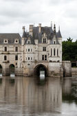 Castle of Chenonceau. Known as the castle of the ladies was built in 1513 and is one of the most visited in the Loire Valley. — Stock Photo