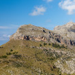 Serra de Tramuntana - mountains on Mallorca, Spain — Stock Photo #39512275
