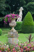 Garden and Castle of Valencay in Loire Valley in France — Stock Photo