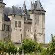 Castle of Saumur in Loire Valley, France — Stock Photo #40306163