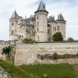 Stock Photo: Castle of Saumur in Loire Valley, France