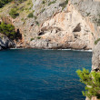 Torrent de Pareis - Sa Calobra bay in Majorca Spain — Stock Photo #40539167