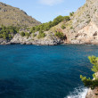Torrent de Pareis - Sa Calobra bay in Majorca Spain — Stock Photo #41376843