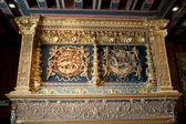 The Salamander, Emblem of François I . Castle of Blois. Loire valley, France — Stock Photo
